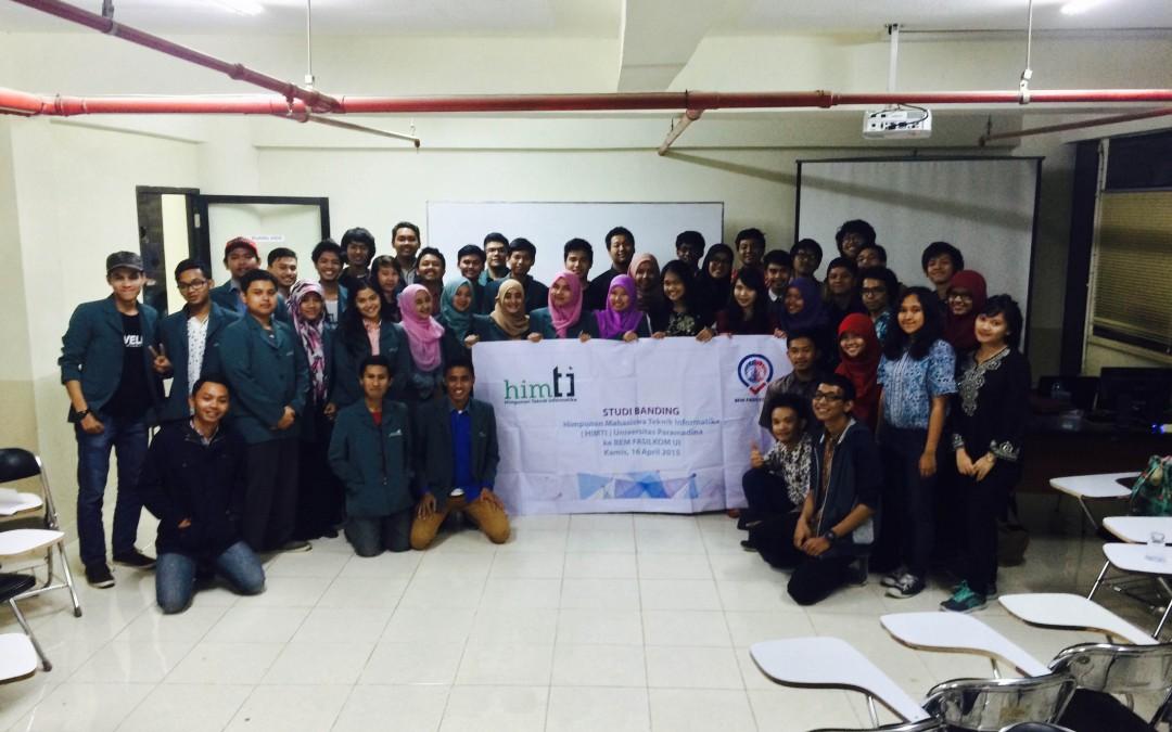 Kunjungan HIMTI Universitas Paramadina!
