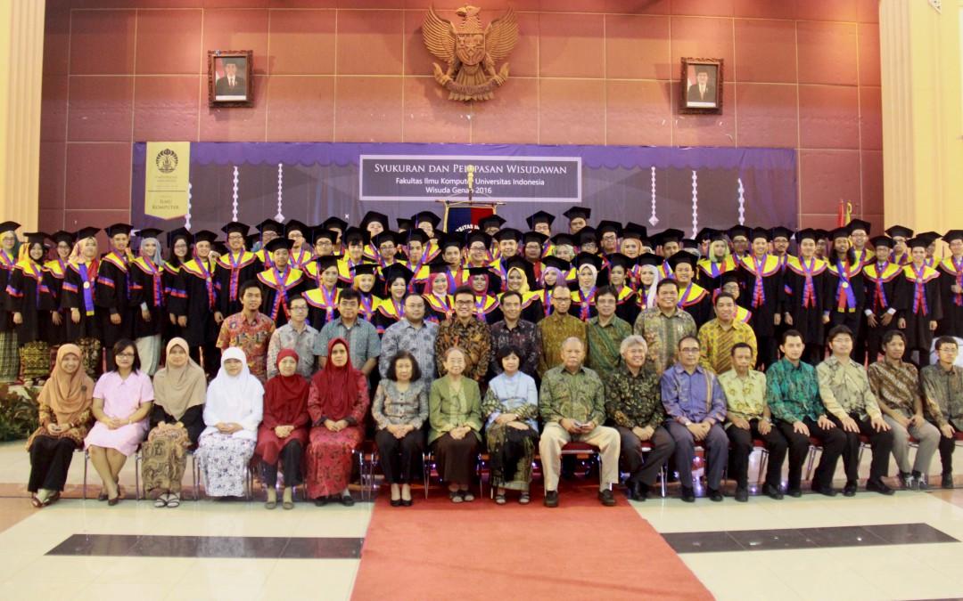 Syukuran dan Pelepasan Wisudawan Wisuda Genap tahun ajaran 2015-2016