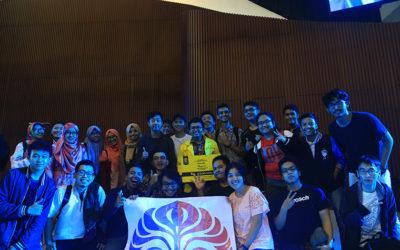 M. Reza Qorib to Mapres UI 2017
