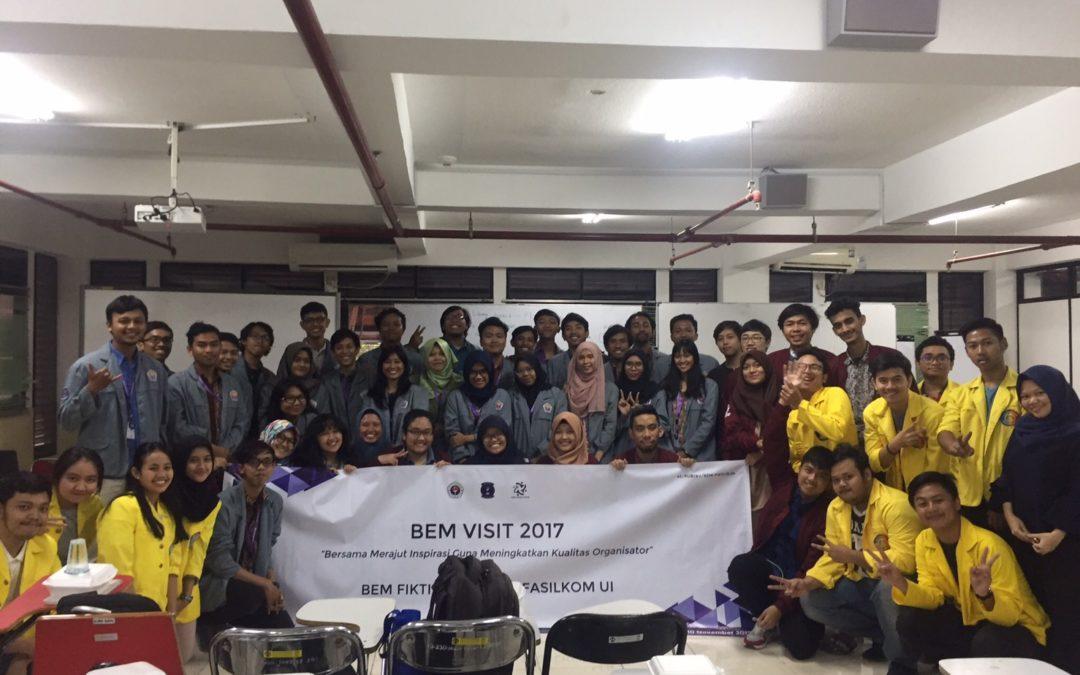 BEM Visit : Kunjungan dari BEM FIKTI Gunadarma