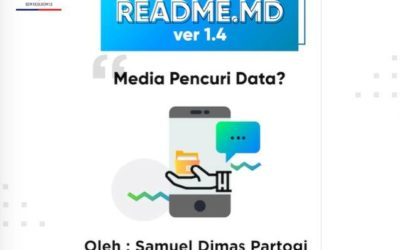 #READMEdotMD ver 1.4 : Media Pencuri Data?