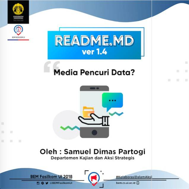 #READMEdotMD ver 1.4 : Media Pencuri Data?
