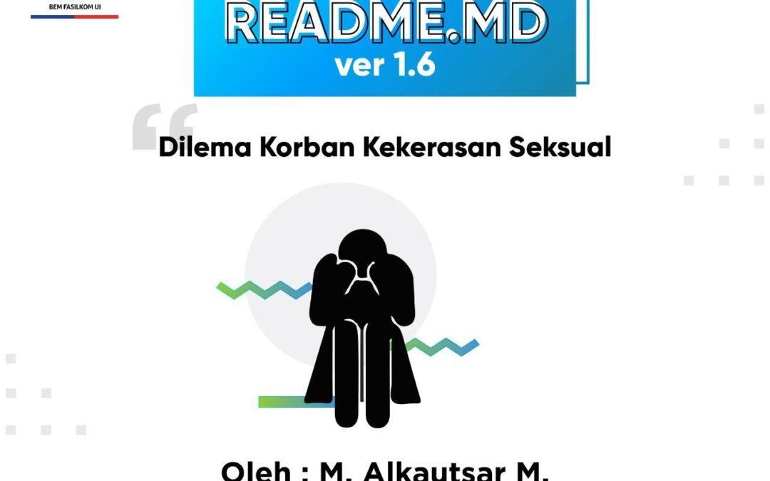 #READMEdotMD ver 1.6 : Dilema Korban Kekerasan Seksual