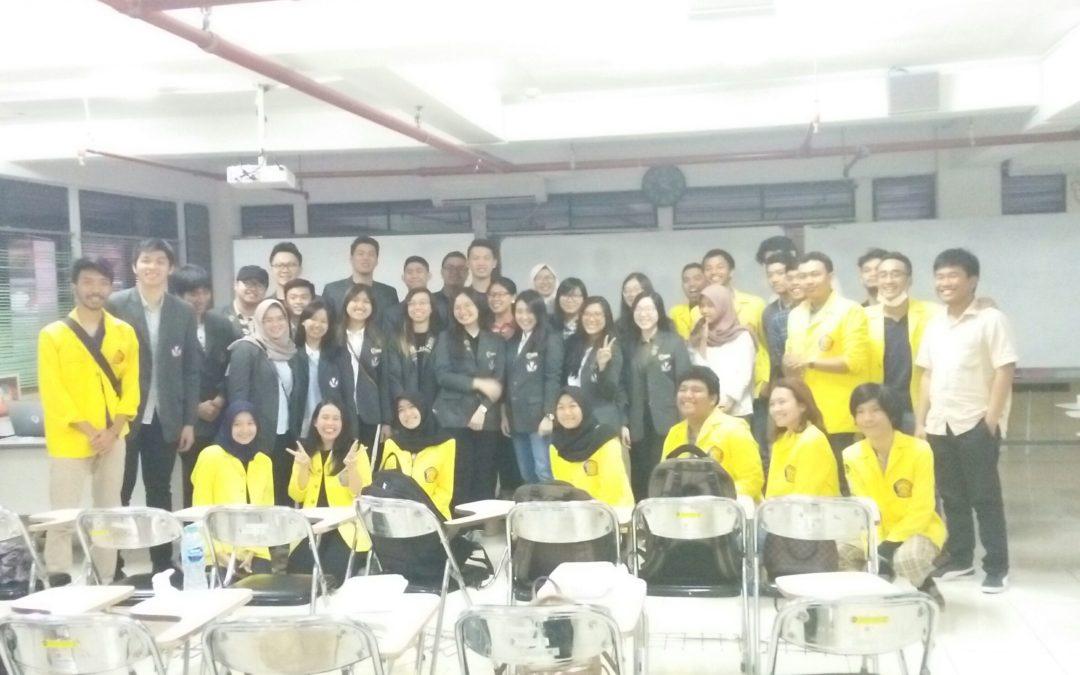 Kunjungan Institusi: HMSI Universitas Pelita Harapan